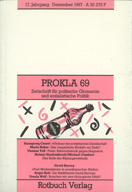 Ansehen Bd. 17 Nr. 69 (1987): Reformen in Osteuropa