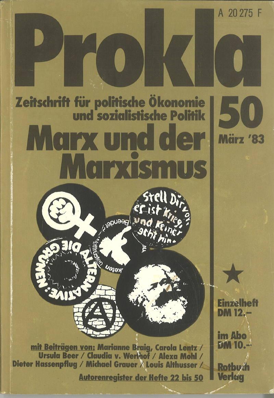 Ansehen Bd. 13 Nr. 50 (1983): Marx und der Marxismus